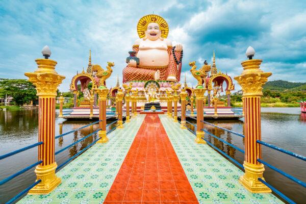 Koh Samui Wat Plai Laem Buddha
