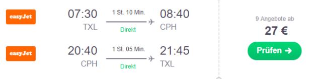 1 Tage Kopenhagen