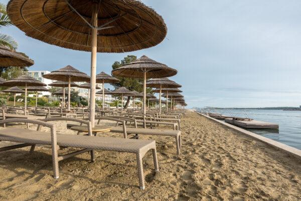 Kroatien Istria Porec Strand