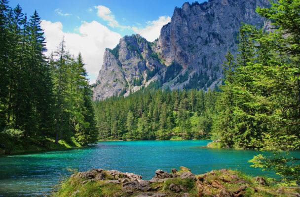 Österreich Steiermark Grüner See Landschaft