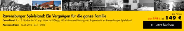 Ravensburger Spieleland Angebot