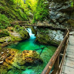Fly & Drive zur Vintgar Klamm: 6 Tage Roadtrip durch Slowenien mit Flug & Mietwagen nur 59€