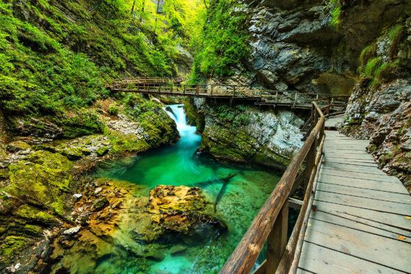 Slowenien Bled Vintgar Gorge