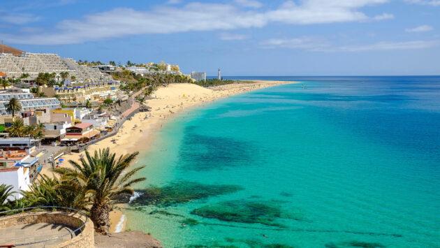 Spanien Fuerteventura Playa del Matorral Morro Jable