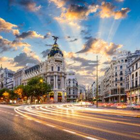 Madrid: 3 Tage in Spanien mit Hin- & Rückflug & Unterkunft nur 64€