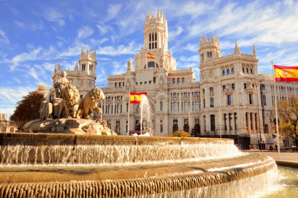 Spanien Madrid Cibeles Fountain