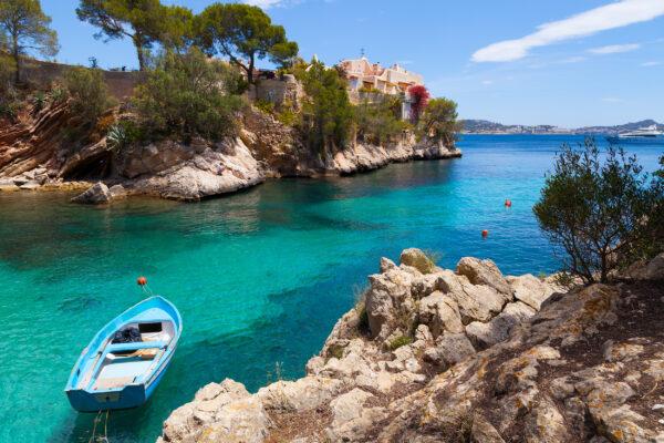Spanien Mallorca Cala Fornells Paguera