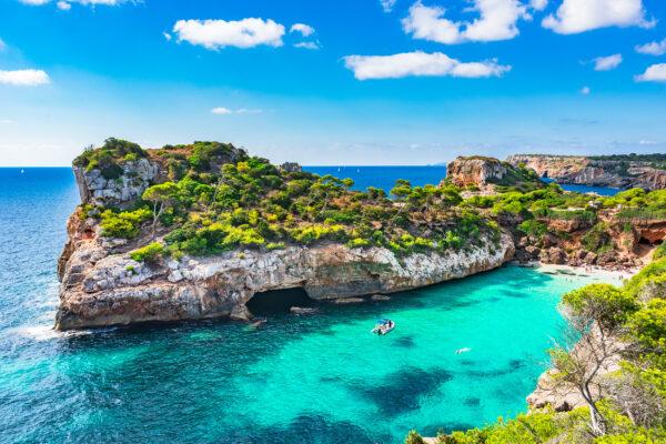 Spanien Mallorca Cala Moro Strandabschnitt