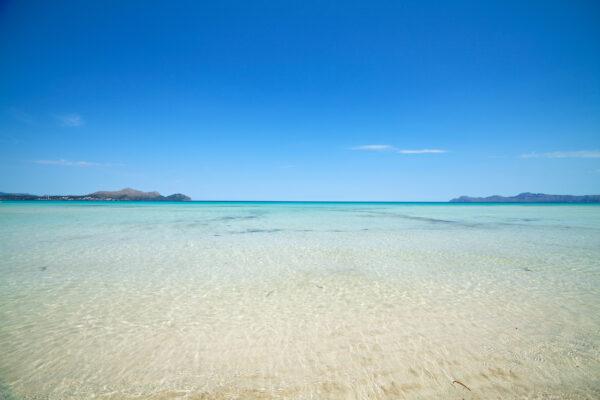 Spanien Mallorca Flacher Strand