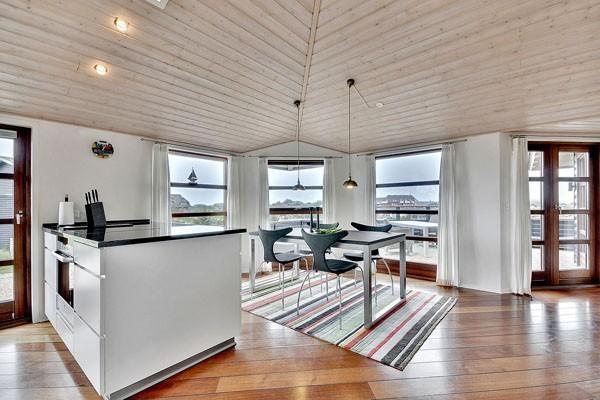 Strandhaus Hennestrand Dänemark Küche