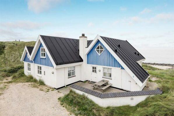Strandhaus Lonstrup Dänemark Außen
