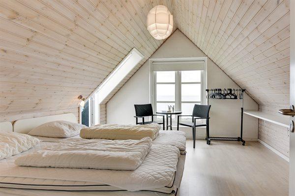 Strandhaus Lonstrup Dänemark Schlafzimmer