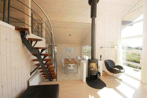 Strandhaus Skallerup Dänemark Wohnraum