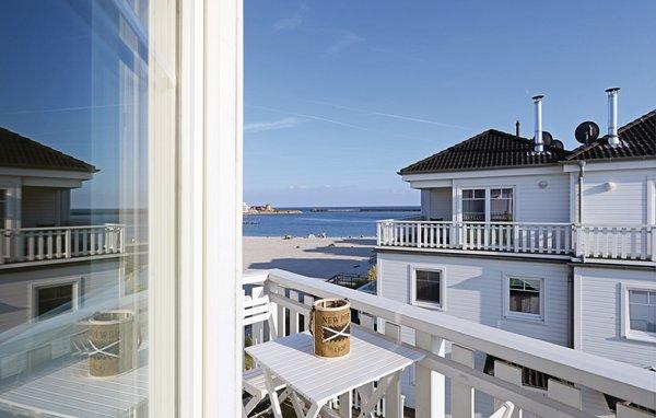 Strandvilla Olpenitz Balkon