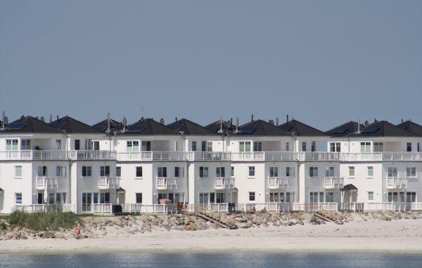 Strandvilla Olpenitz Häuser