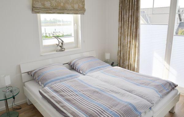 Strandvilla Olpenitz Schlafzimmer