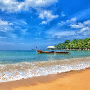 Frühbucher Thailand: 14 Tage Khao Lak im TOP 5* Hotel mit Frühstück, Flug, Transfer & Zug für 959€