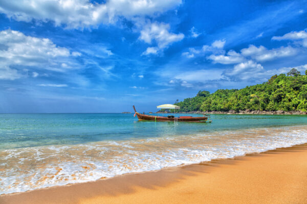 Thailand Khao Lak Gelber Santstrand