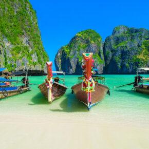 Thailand: 15 Tage auf Phuket & Koh Phi Phi inkl. Unterkünften & Flug nur 489€