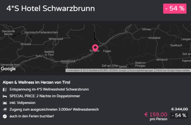 Tirol Hotel Schwarzbrunn