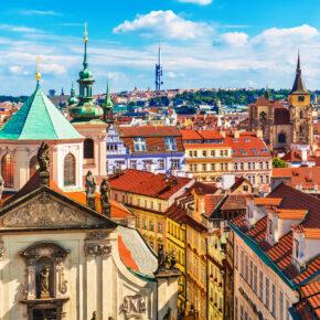 Wochenendtrip in die Goldene Stadt: 3 Tage Prag mit zentralem 4* Hotel & Frühstück nur 38€
