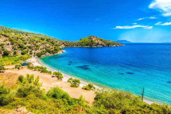 Türkei Bodrum Mazikoay Strand