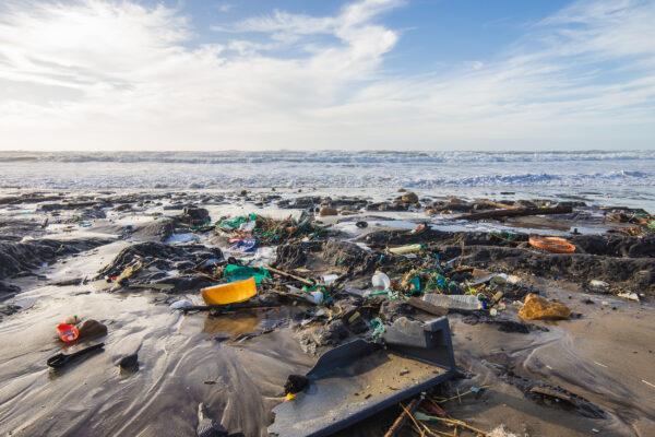 Umweltverschmutzung Müll Strand