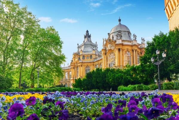 Ungarn Budapest Vajdahunyad