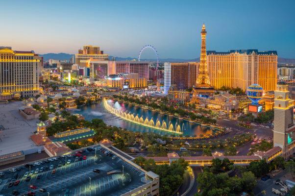 USA Nevada Las Vegas Luftbild