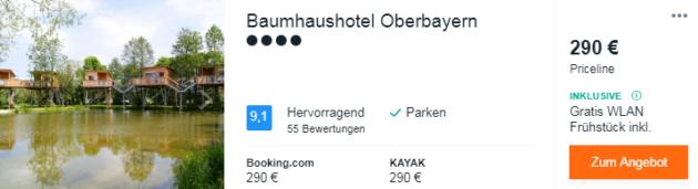 2 Tage Baumhaus