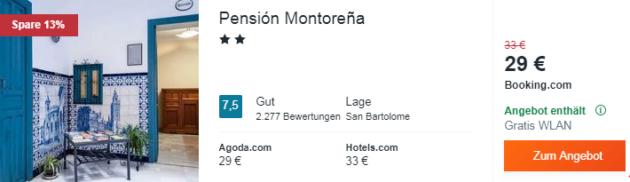 4 Tage Sevilla