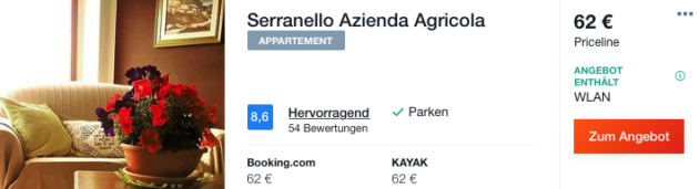 8 Tage Sardinien