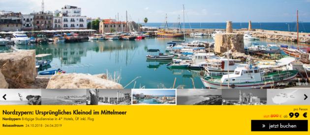 8 Tage Zypern