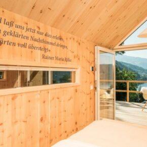 Biwak Hütte von innen