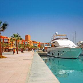 2 Wochen Ägypten: 1 Woche 5* Nilkreuzfahrt mit VP & 1 Woche im 4* All Inclusive Hotel inkl. Flug für 333€