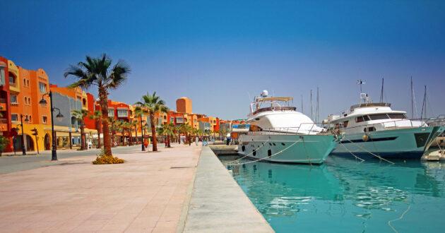Ägypten Hurghada Marina Hafen