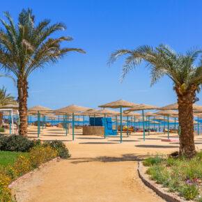 Frühbucher: 7 Tage Ägypten im TOP 5* Hotel mit All Inclusive, Flug, Transfer & Zug nur 388€