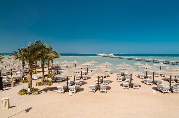 Ägypten Hurghada Weisser Strand