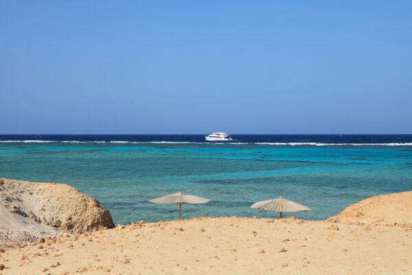 Ägypten Marsa Alam Hafenlandschaft