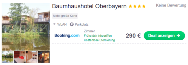 Baumhaushotel Oberbayern