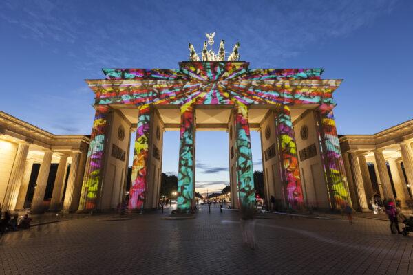 Berlin Festival of Lights Bunt
