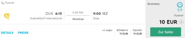 Ibiza & Mallorca Schnäppchen