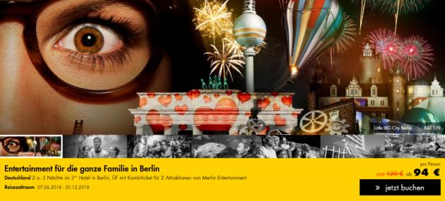 Entertainmentpaket Berlin