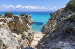 Frühbucherwoche Griechenland: 8 Tage im TOP 5* AWARD Resort mit Flug, Meerblick & Halbpe...