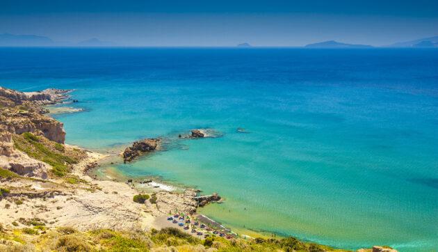 Griechenland Kos Strand Birdview