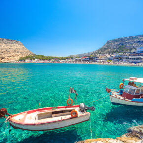 Frühbucher Single-Deal: 7 Tage Kreta im 4* Hotel mit All Inclusive, Flug, Transfer & Zug nur 350€