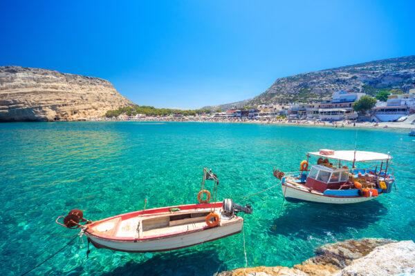 Griechenland Kreta Matala