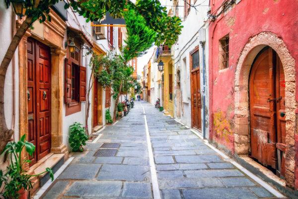 Griechenland Kreta Rethymno Altstadt
