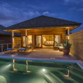 Hurawalhi Resort Villa Nacht