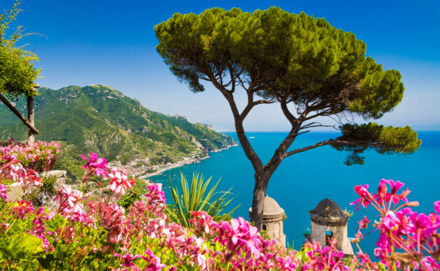 Italien Amalfi Küste Villa Rufolo
